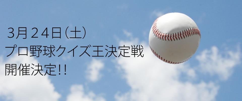 プロ野球クイズ王決定戦 PC用写真